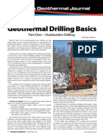 Geothermal Drilling Basics Part One - Overburden Drilling