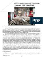 Caracteristica de La Nueva Doctrina Del Vaticano II - La Religion Del Hombre