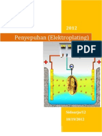 Penyepuhan (Elektroplating)