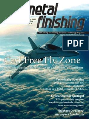 electroplating magazine | Industries | Chemistry