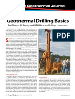 Geothermal Drilling Basics