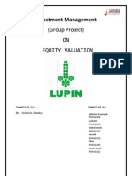 Investment management ( lupin ltd.)