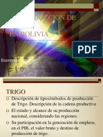 Trigo en Bolivia