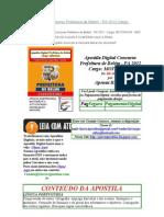 A melhor Apostila Digital Concurso Prefeitura de Belém - PA 2012 - Cargo