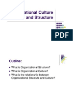 Chapter 3 Organization Culture and Structure