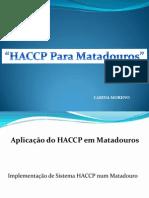 haccp matadouros