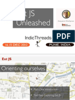 IndicThreads Pune12 Ext JS Unleashed