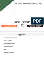 IndicThreads Pune12 Akka Actors