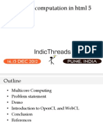 IndicThreads-Pune12-Accelerating Computation in HTML 5