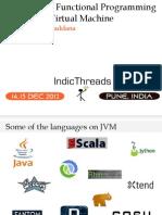IndicThreads-Pune12-Polyglot & Functional Programming on JVM