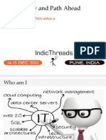IndicThreads-Pune12-NoSQL Now and Path Ahead