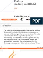IndicThreads-Pune12-Java EE 7 PlatformSimplification HTML5