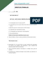 Apenas demonstração :Resumão de Direito de Trabalho - Sindicatos