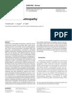 Autoimmune Retinopathy- Review 2012