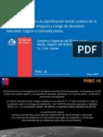 Sistemas de apoyo a la planificación borde costero de la Región del Biobio. Impacto y riesgo de desastres naturales