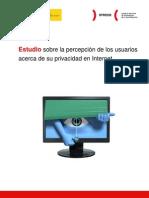 Estudio sobre la percepción de los usuarios acerca de su privacidad en Internet