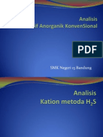 power point analisis kation