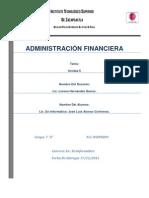 Unidad 6 De Administracion Financiera.