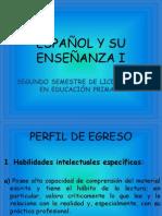 PRESENTACIÓN_PROGRAMA_EPAÑOL Y SU ESNEÑANZA I