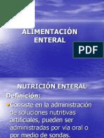 ALIMENTACIÓN ENTERAL