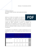 SOLICITUD DE CAMBIO DE NOTAS