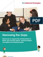 Narrowing the Gaps - Resources to support the achievement of Black and minority, disadvantaged and gifted and talented pupils