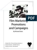 Film and video Industries Task2