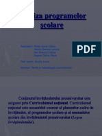 Analiza programelor -ºcolare (1)
