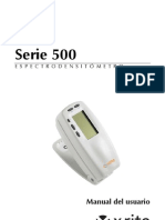 EspectrodensitómetroX-RITE518X,ManualTécnico