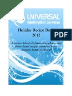 Holiday Cookbook 2012