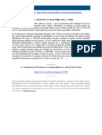 Corte Di Cassazione n 23000_2012