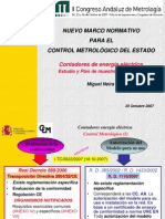 Marco Normativo Para El Control Metrologico