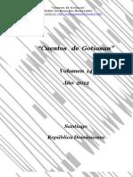 """Volumen 14 de """"Cuentos de Gotiasan"""""""
