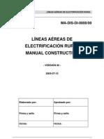 Manual Constructivo de Lineas Aereas