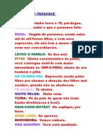Dicionário Paraense