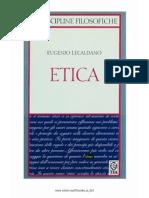 Eugenio Lecaldano Etica