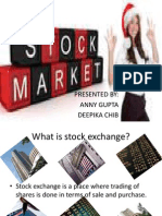 Stock Exchange of india