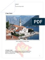 CERES Country Profile - Montenegro
