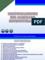 Certificaciones Del Cableado Estructurado 2012