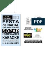 FULLETÓ FESTA NADAL 2012_