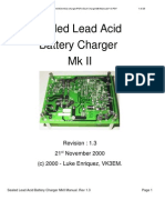 Sealled Lead Acid Charger MkII Manual V1-3