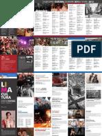 Calendario Lima Cultura Diciembre - Enero