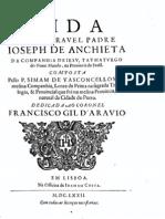 Vida do Venerável José de Anchieta