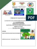 PRODUCTOS-DIPLOMADO-COMPRENSION-LECTORA MTRA. PERLA ESTHER RINCÓN HERNÁNDEZ