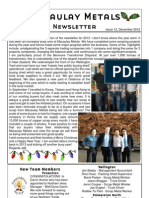 Newsletter Issue 11 December