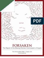 Forsaken Report_CD Content