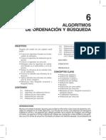 Algoritmos de ordenación y Busquedas