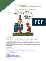 Actividad de investigación patentes