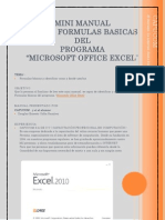 Mini Manual de Excel
