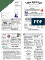 PBC Bulletin 16 December
